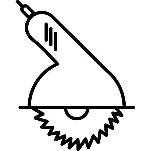 Motor Saw Tool Icons Free Download