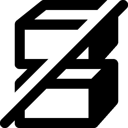 Ecommerce Do Not Stack Icon Windows Iconset