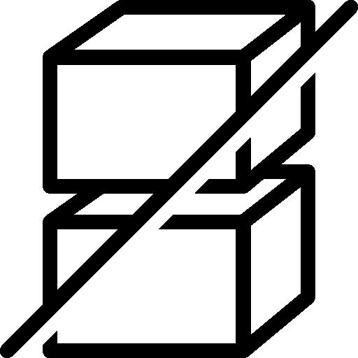 Ecommerce Do Not Stack Icon Ios Iconset