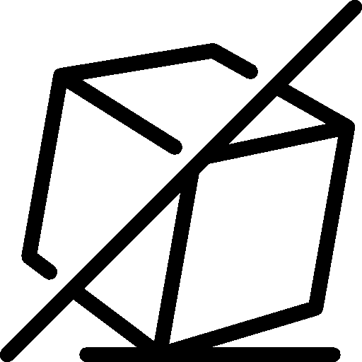 Ecommerce Do Not Tilt Icon Ios Iconset