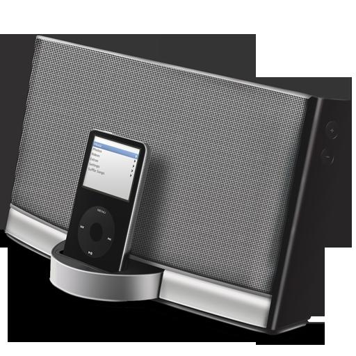 Sound Dock Icon Exclusive Iconset Azyrusmax