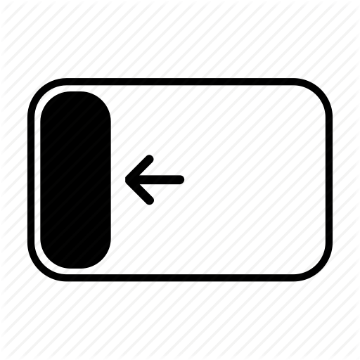 Dock, Interface, Left, Location, Navigation, Snap, Windows Icon