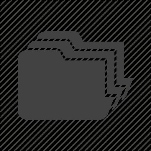 Document, Extension, File, Folder, Management Icon