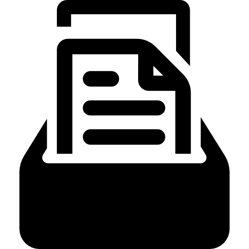 Storage Of Documents Icons Free Download