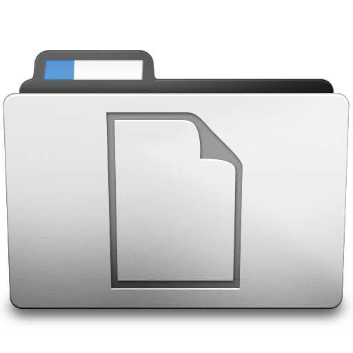 White Documents Icon