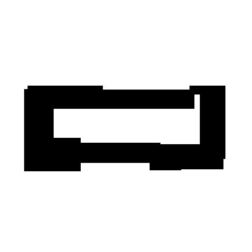 Black And White Dog Bone Icon