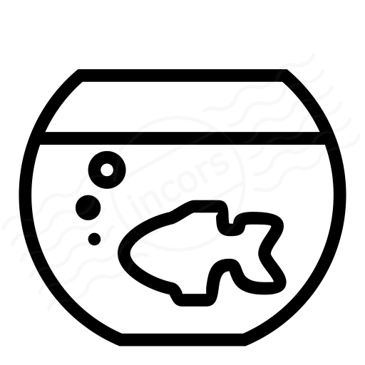 Iconexperience I Collection Fish Bowl Icon
