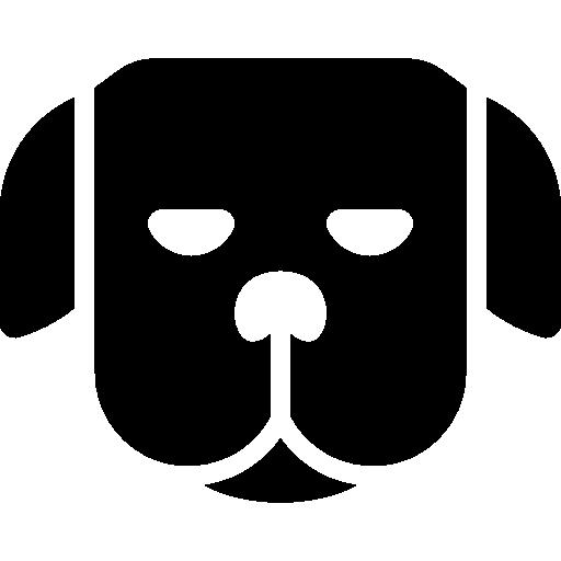 Face Of A Dog With Sleepy Eyes