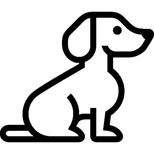 Dog Flat Icon