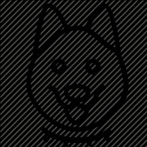 Adult, Animal, Dog, Head, Pet Icon