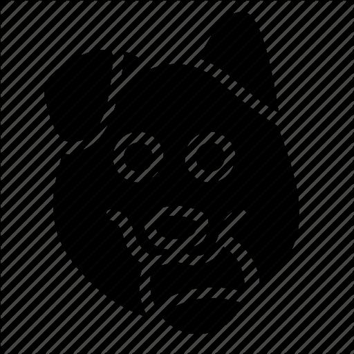 Animal, Dog, Head, Pet, Young Icon