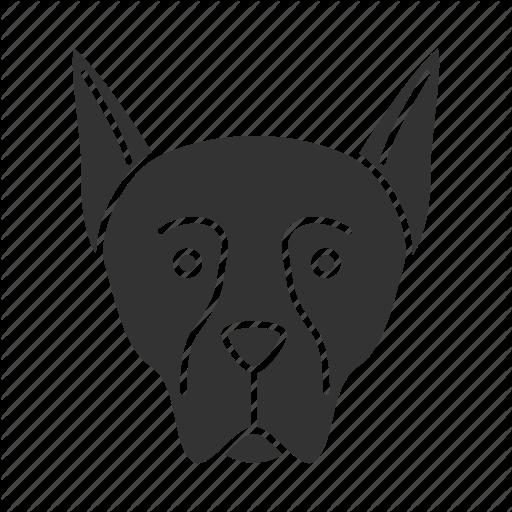 Doberman Vector Dog Transparent Png Clipart Free Download