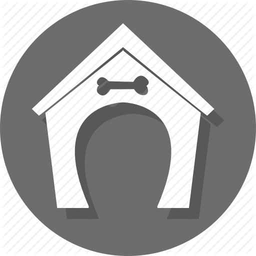 Building, Dog, Home, Hostel, Hotel, House, Pet Icon
