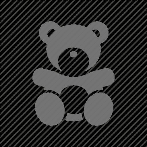Bear, Doll, Girl, Infant, Kid, Teddy, Toy Icon