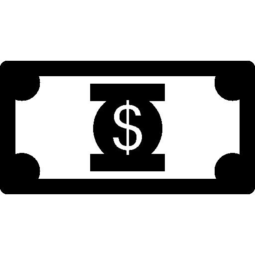 Money Dollar Bill Icons Free Download