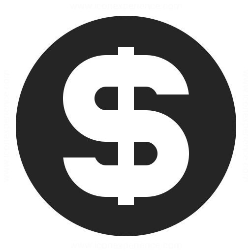 Currency Dollar Icon Iconexperience