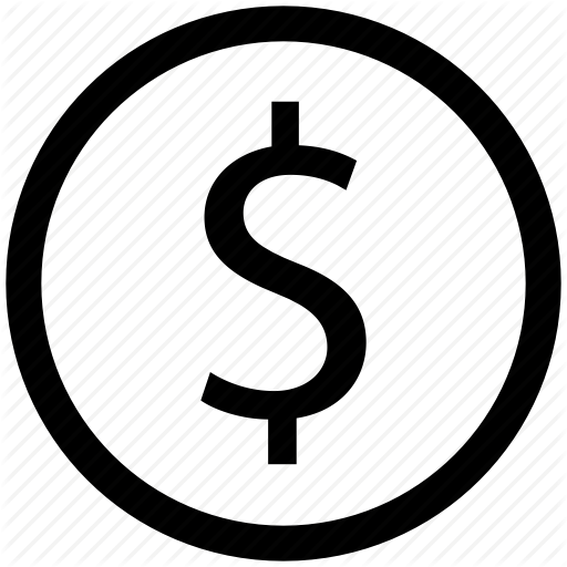 Chart, Circle, Currency, Dollar Sign, Dollars, Finance Icon