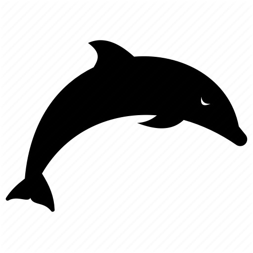 Aquatic Animal, Dolphin, Dolphin Fun, Sea Animal, Sea Creature Icon