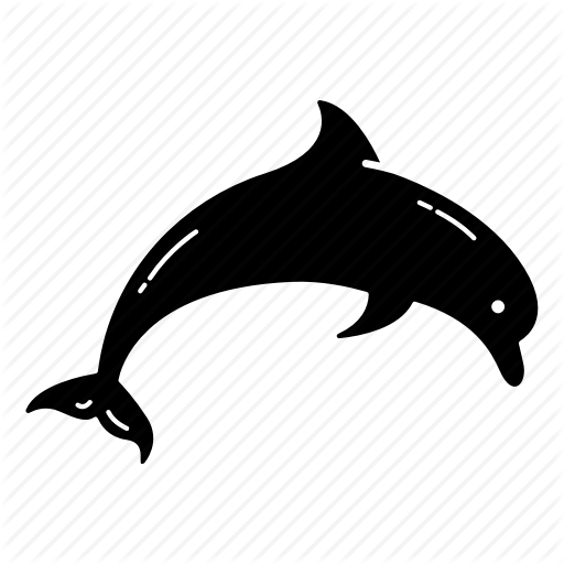 Dolphin, Fish, Flipper, Friend, Ocean, Sea, Sea Creature Icon