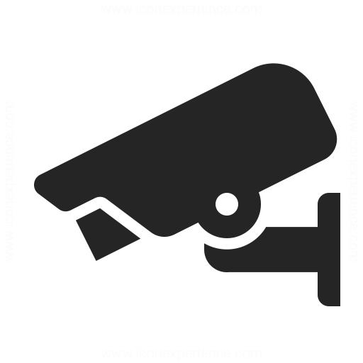 Surveillance Camera Icon Iconexperience