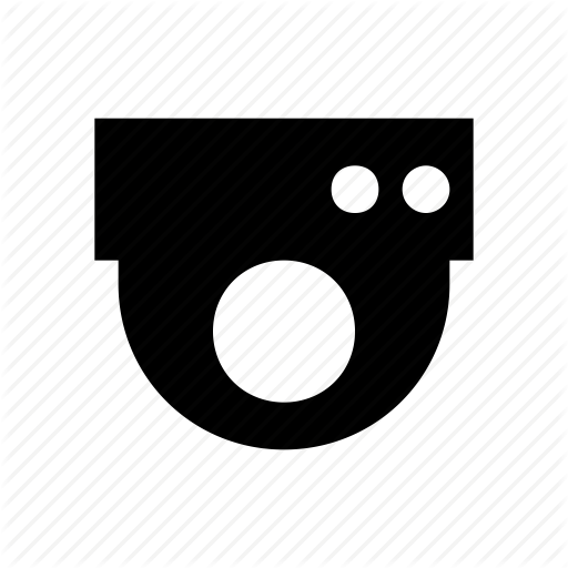 Camera, Dome Camera Icon