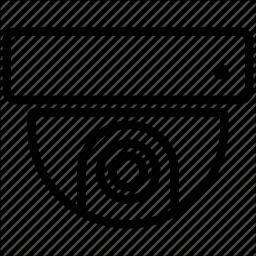 Camera, Roof, Surveillance, Video Icon