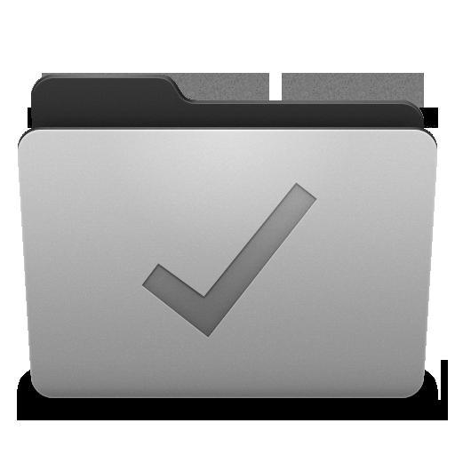 Folder Done Icon