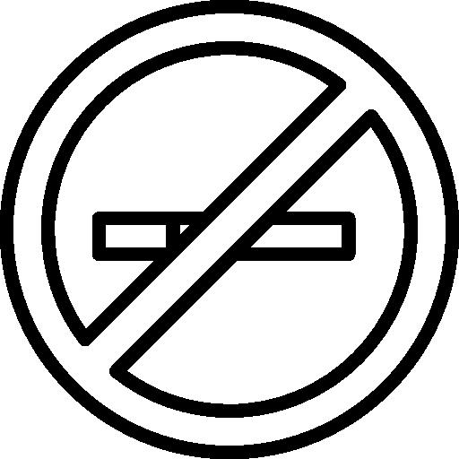 Tube Don't Smoke Sign