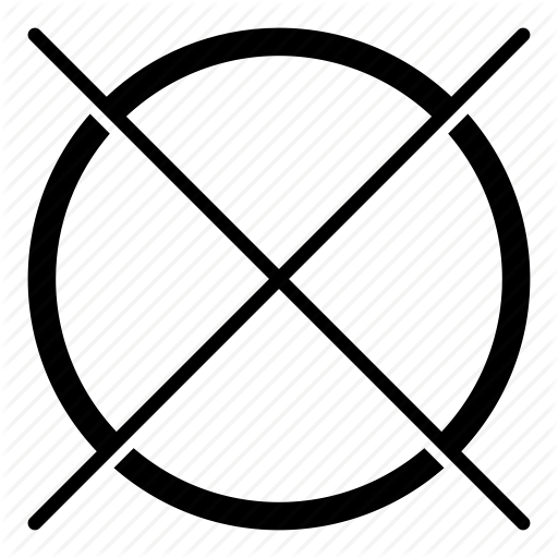 Ban, Cross, Do Not, Dont, Prohibit, Prohibited, Prohibition Icon