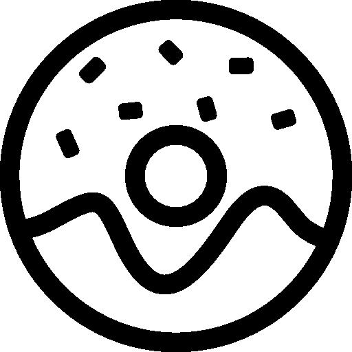 Donut With Sprinkles