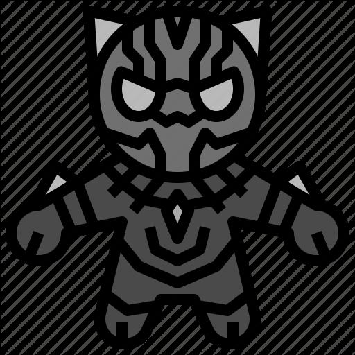 Avangers, Avatars, Black, Gartoon, Hero, Marvel, Panther Icon