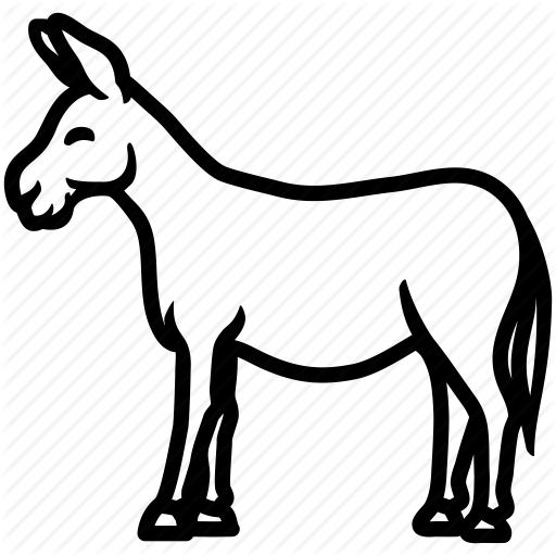 Black And White Mule Png Transparent Black And White Mule