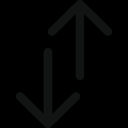 Arrow, Arrows, Double, Double Arrow, Doublearrowupdown, Top Bottom