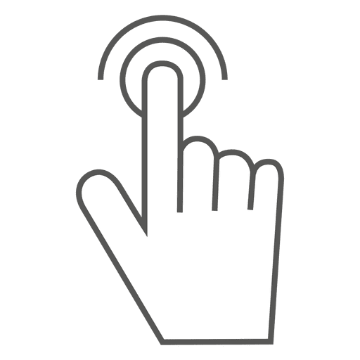 Double Tap Gesture Icon