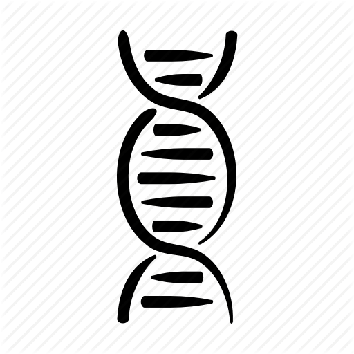 Dna, Double, Genes, Genetics, Hand Drawn, Helix, Strand Icon