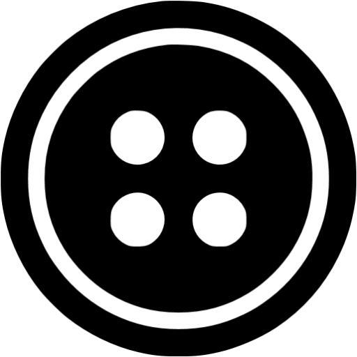 Black Button Icon