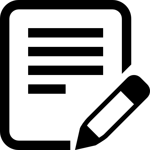 Edit Document Icons Free Download