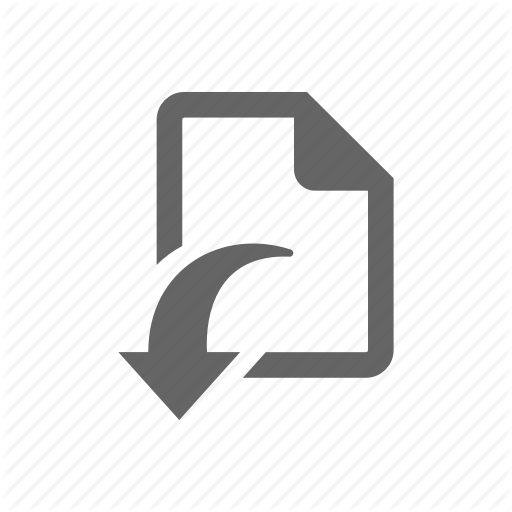Arrow, Document, Download, Form, Note, Paper, Sheet Icon