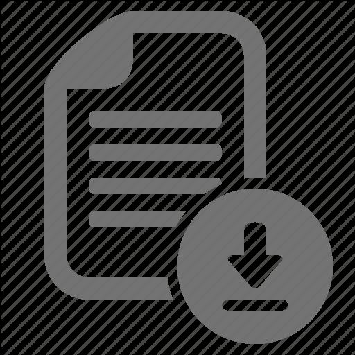 Data, Document, Download, File, Transfer Icon
