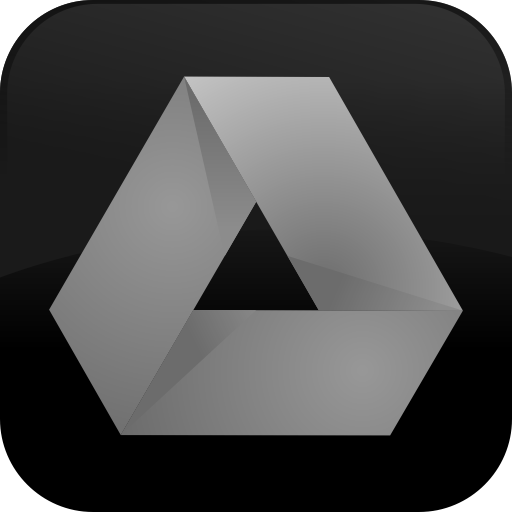 Google Drive Dark Gray Button Icons, Free Icons In Google Drive