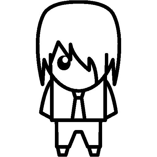 Anime Boy With Tie