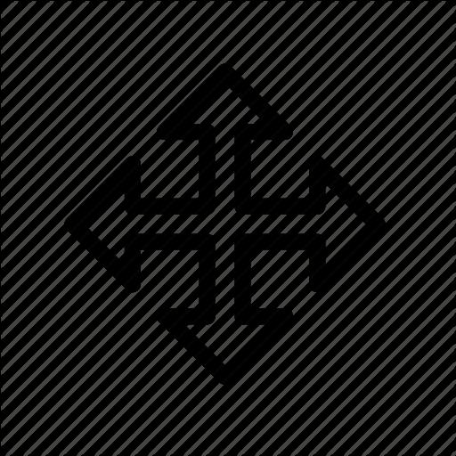 Arrows, Cursor, Direction, Drag, Drop, Move, Order Icon