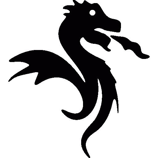 Dragon Symbol Of Japan Icons Free Download