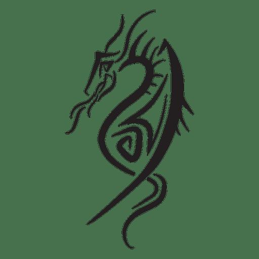 Dragon Tribal Pinstripes
