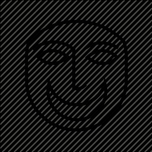 Drama Mask Icon