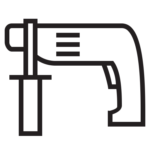 Appliances, Drill, Drillbit Icon