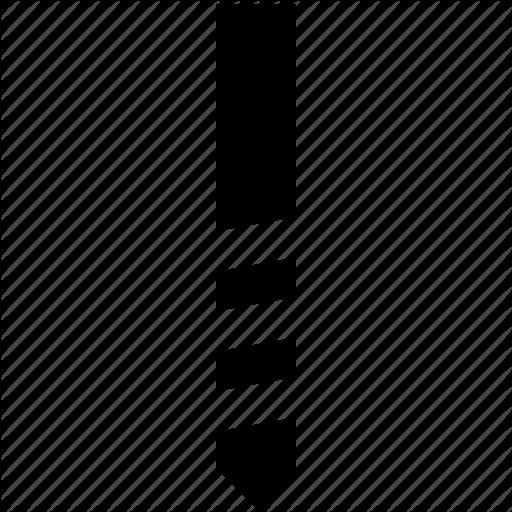 Bit, Drill, Metal Icon