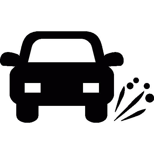 Car Tire Blowout