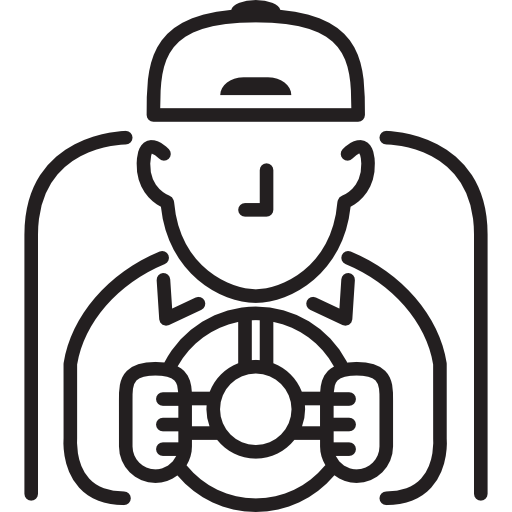 Car, Automobile, Vehicle, Driver, People, Drive Icon