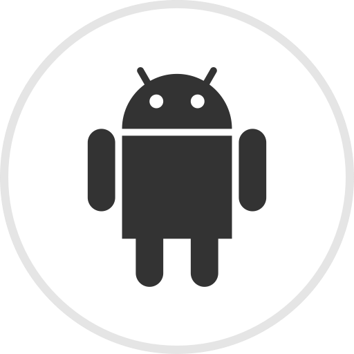 Media, Social, Android, Online, Droid Icon